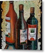 Georgian Wine Fresco Metal Print