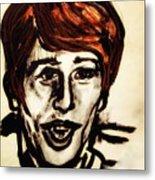 Georgie Fame Portrait Metal Print