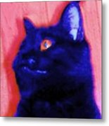 Gepetto The Cat Godzilla Metal Print