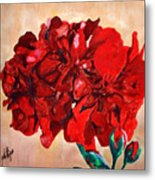 Geranium Bloom Metal Print