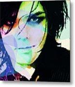 Gerard Way My Chemical Romance  Metal Print
