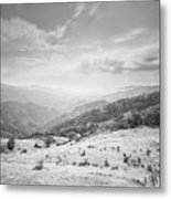 Geres The Not Burned Area.. Yet.. Metal Print