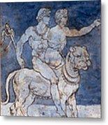 Gericault: Bacchus & Ariadne Metal Print