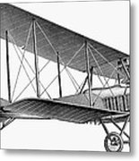 German Airplane, 1913 Metal Print