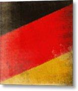 German Flag Metal Print