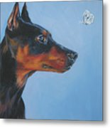 German Pinscher Metal Print
