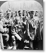 German Prisoners Of War Metal Print