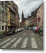 German Street Metal Print