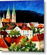 Germany Freiburg Metal Print
