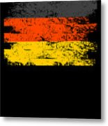 Germany Gift Country Flag Patriotic Travel Shirt Europe Light Metal Print
