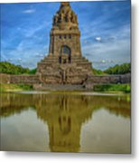 Germany - Monument To The Battle Of The Nations In Leipzig, Saxony Metal Print
