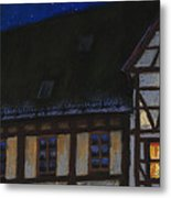 Germany Ulm Fischer Viertel Moonroofs Metal Print