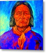 Geromino - Chiricahua Apache Leader Metal Print
