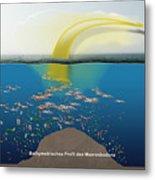 Geruchssinn Von Eissturmvoegeln - Procellariidae  Metal Print