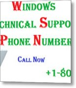 Get Technical Support For Windows Metal Print