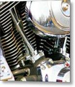 Get Your Motor Running Metal Print