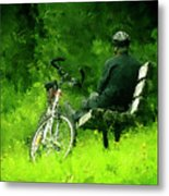 Getting Away From It All Metal Print