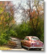 Getting Away Metal Print