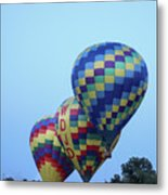 Getting Off The Ground Metal Print