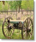 Gettysburg Cannon Cemetery Hill Metal Print