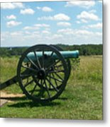 Gettysburg Cannon Metal Print by Kevin Croitz