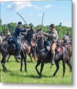 Gettysburg Cavalry Battle 7978c  Metal Print