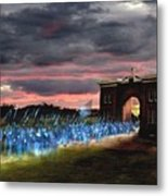 Gettysburg Evergreen Metal Print