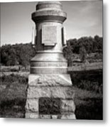 Gettysburg National Park 30th Pennsylvania Infantry Monument Metal Print