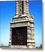 Gettysburg National Park 6th New York Cavalry Memorial Metal Print