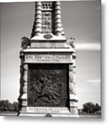 Gettysburg National Park 6th New York Cavalry Monument Metal Print