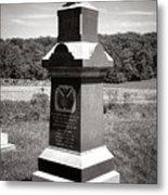 Gettysburg National Park 6th Wisconsin Iron Brigade Monument Metal Print