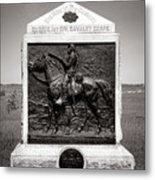 Gettysburg National Park 9th New York Cavalry Monument Metal Print