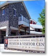 Gettysburg National Park Museum And Visitor Center Metal Print
