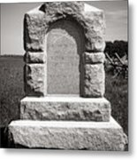 Gettysburg National Park Third West Virginia Cavalry Monument Metal Print