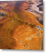 Geyser Basin Springs 6 Metal Print