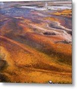 Geyser Basin Springs 7 Metal Print