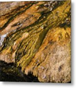 Geyser Basin Springs Metal Print