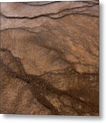 Geyser Patterns Metal Print