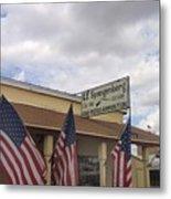 G.f. Spangenberg Gun Shop Tombstone Arizona 2004 Metal Print
