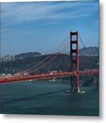 Gg San Francisco Metal Print