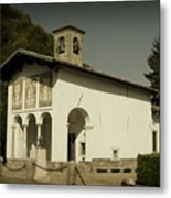 Ghisallo Chapel Metal Print