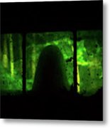 Ghost In The Window No. 2 Metal Print