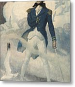 Ghost Of Admiral Nelson Metal Print
