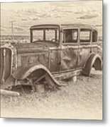 Ghost Of The Mother Road Metal Print