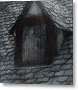 Ghost Rain Metal Print