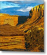 Ghost Ranch At Sunset, Abiquiu, New Metal Print
