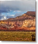 Ghost Ranch Red Metal Print