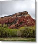 Ghost Ranch View Metal Print