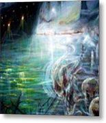 Ghost Ship 2 Metal Print