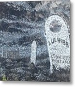 Ghost Town Boot Hill Metal Print